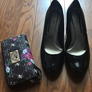 Comfort Plus by Predictions Black heels
